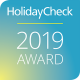 Badge HolidayCheck 2019 Award